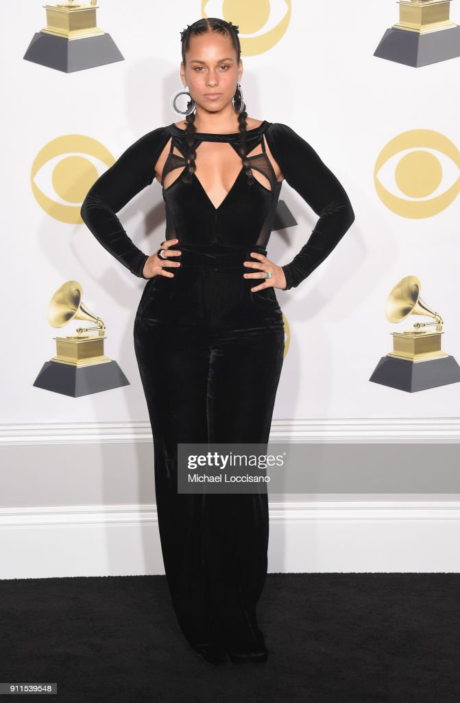 60th Annual GRAMMY Awards - Press Room : News Photo