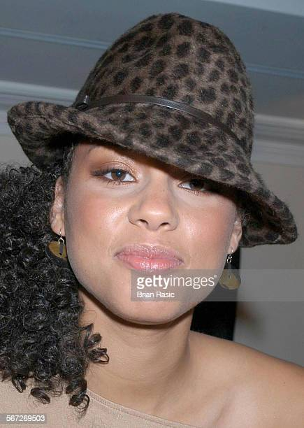 Alicia Keys Promoting New Album Diary Of Alicia Keys At Sofitel Hotel London Britain 03 Nov 2003 Alicia Keys