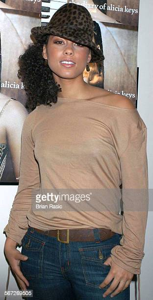 Alicia Keys Promoting New Album Diary Of Alicia Keys At Sofitel Hotel London Britain 03 Nov 2003 Alicia Keys