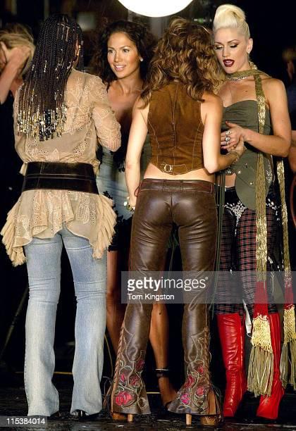 Alicia Keys Sheryl Crow Jennifer Lopez and Gwen Stefani