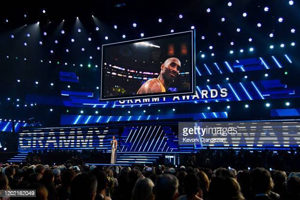 Alicia Keys speaks onstage during the 62nd Annual GRAMMY Awards at Staples Center on January 26 2020 in Los Angeles California