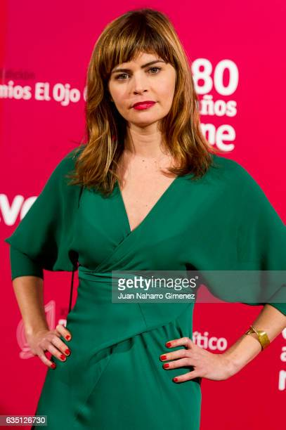 Alicia Kopf attends the 'El Ojo Critico' 2016 awards at Reina Sofia Museum on February 13 2017 in Madrid Spain
