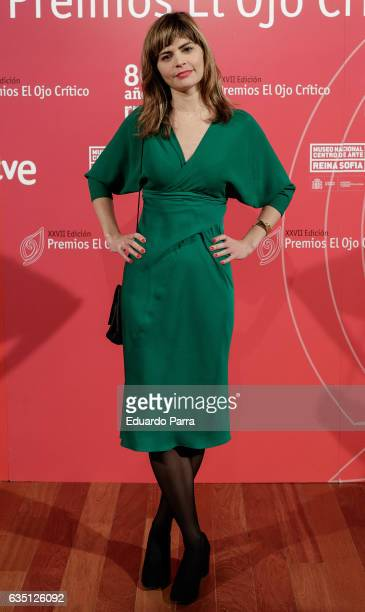 Alicia Kopf attends the 'El ojo critico' awards photocall at Reina Sofia museum on February 13 2017 in Madrid Spain
