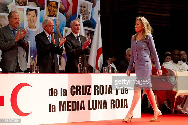 Alicia Koplowitz attend 'Red Cross World Day' Event on May 8 2013 in Malaga Spain