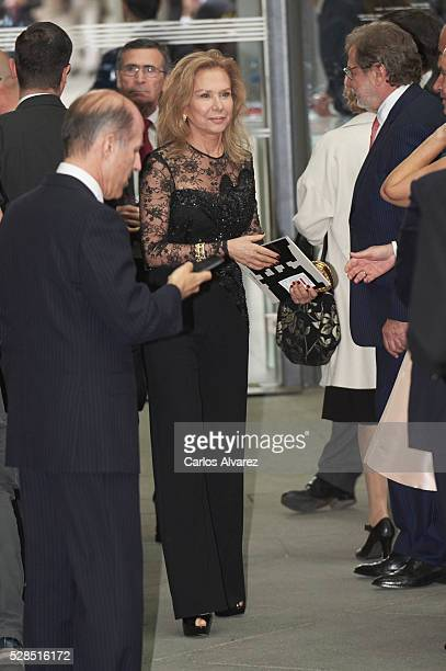 Alicia Koplowitz attends 'Ortega Y Gasset' journalism awards 2016 at Palacio de Cibeles on May 05 2016 in Madrid Spain