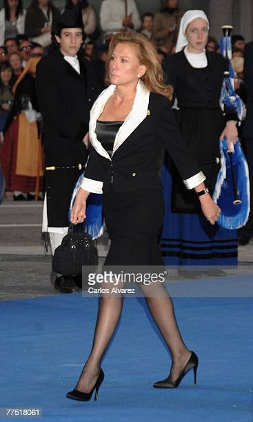 Alicia Koplowitz attends Prince of Asturias Award Ceremony on October 26 2007 at the 'Campoamor' Theatre in Oviedo Spain