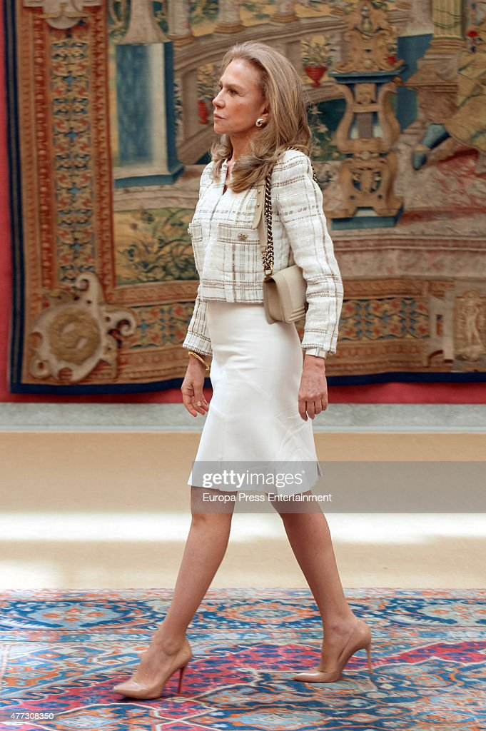 Alicia Koplowitz attends the bicentenary of the Council of The Greatness of Spain on June 16, 2015 in Madrid, Spain.