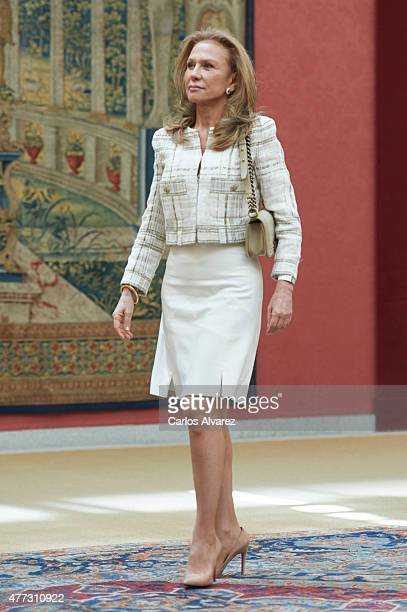 Alicia Koplowitz attends the Bicentenary of the Council of the Greatness of Spain at the El Pardo Palace on June 16 2015 in Madrid Spain