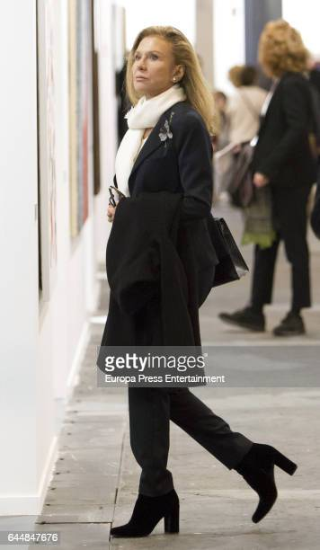 Alicia Koplowitz attends the International Contemporary Art Fair ARCO 2017 at Ifema on February 22 2017 in Madrid Spain