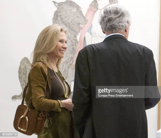 Alicia Koplowitz attends the International Contemporary Art Fair ARCO 2018 at Ifema on February 21 2018 in Madrid Spain