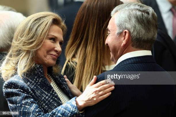 Alicia Koplowitz attends the presentation of BDE at El Pardo Palace on May 3 2018 in Madrid Spain
