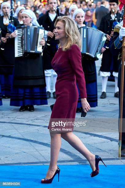 Alicia Koplowitz attends the Princesa de Asturias Awards 2017 ceremony at the Campoamor Theater on October 20 2017 in Oviedo Spain