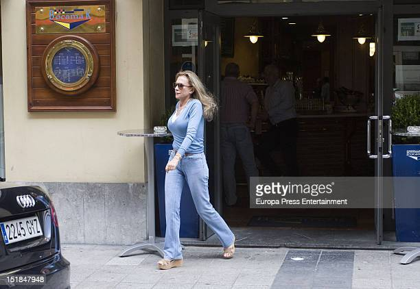 Alicia Koplowitz is seen on September 11 2012 in Oviedo Spain