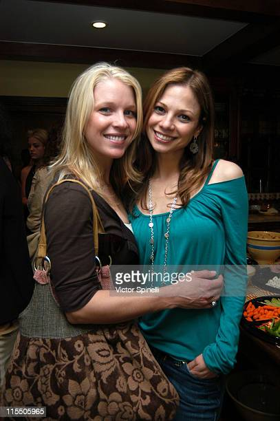 Alicia Lee Wilis and Tamara Braun during PreEmmy celebration Honoring the Women of Daytime Television and Planned Parenthood Federation of America...