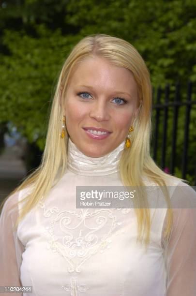 Alicia Leigh Willis during The 31st Annual Daytime Emmy Awards PreParty Thrown by Mayor Bloomberg at Gracie Mansion in New York New York United States
