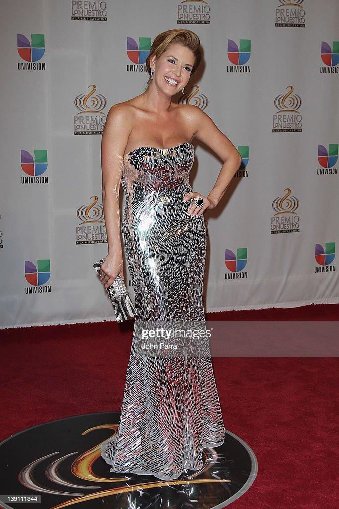 Premio Lo Nuestro a La Musica Latina - Arrivals : News Photo