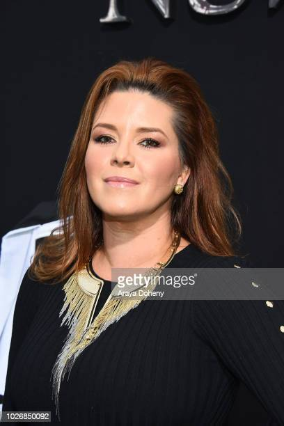 Alicia Machado attend the premiere of Warner Bros Pictures' 'The Nun' at TCL Chinese Theatre on September 4 2018 in Hollywood California
