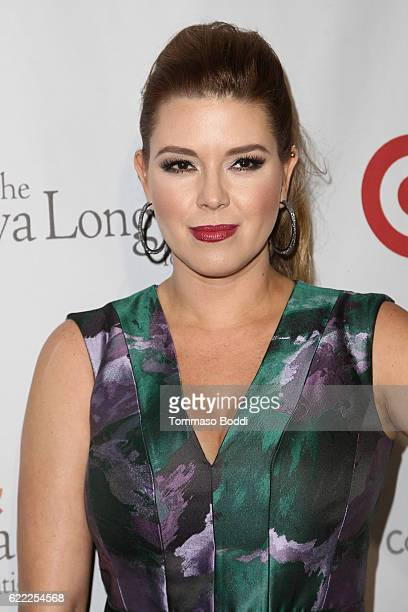 Alicia Machado attends the 5th Annual Eva Longoria Foundation Dinner at Four Seasons Hotel Los Angeles at Beverly Hills on November 10 2016 in Los...