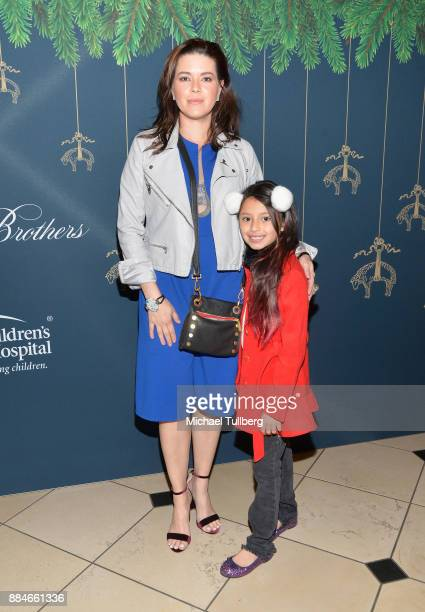 Alicia Machado attends the Brooks Brothers holiday celebration with St Jude Children's Research Hospital at Brooks Brothers Rodeo on December 2 2017...
