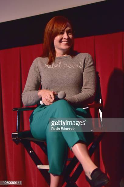 Alicia Malone attends 'Sex And Power The Visual Language Of Oppression' at AFI FEST 2018 Presented By Audi at TCL Chinese 6 Theatres on November 10...