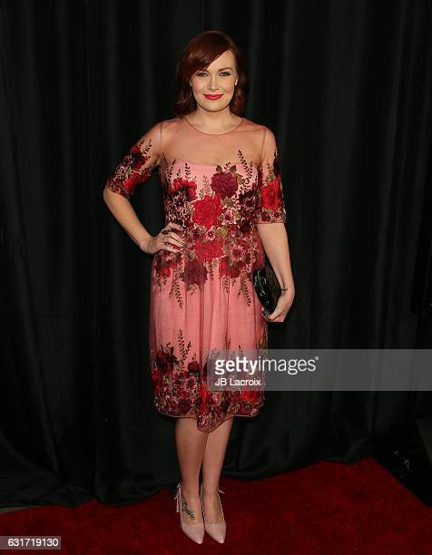 Alicia Malone attends the 42nd Annual Los Angeles Film Critics Association Awards on January 14 2017 in Pasadena California