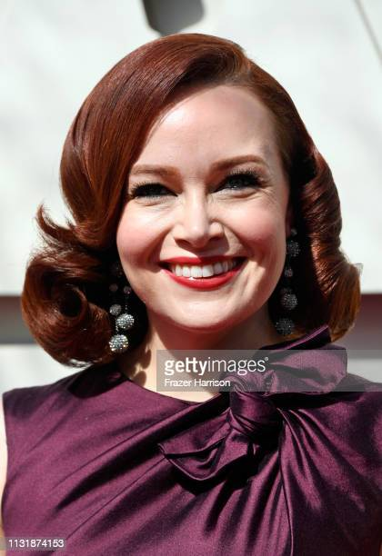 Alicia Malone attends the 91st Annual Academy Awards at Hollywood and Highland on February 24 2019 in Hollywood California