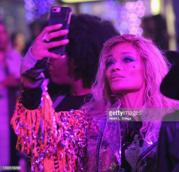 Alicia Marie attends A Night of Music and Mayhem in Harleywood hosted by the cast of Bird Of Prey held at Hollywood and Highland on January 23 2020...