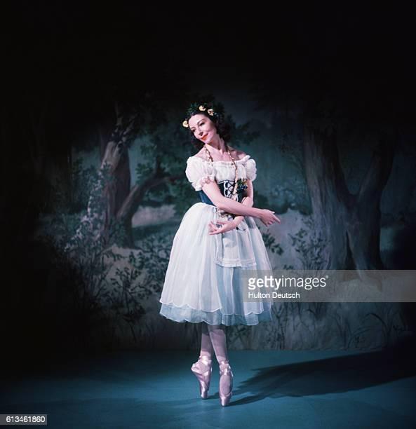 Alicia Markova as Giselle. Markova; Alicia: Born in London 1910. Studied with Astafyeva in London, and taken into the Diaghilev Co. At the age of 14.