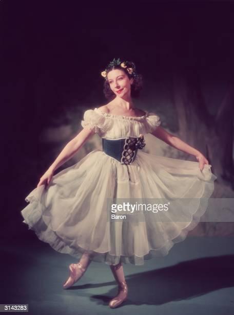 Alicia Markova as Giselle.
