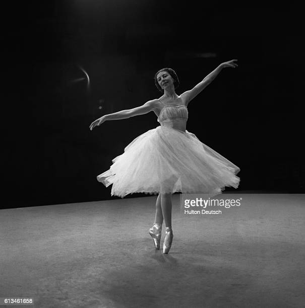 Alicia Markova dancing. Markova, Alicia: Born London, 1910. Studied with Astafyeva in London, and taken into the Diaghilev Co at the age of 14. A...