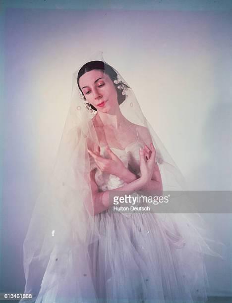 Alicia Markova in Giselle. Markova; Alicia: Born in London 1910. Studied with Astafyeva in London, and taken into the Diaghilev Co. At the age of 14.