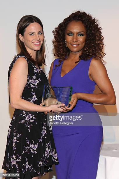 Alicia Menendez Anchor and Special Correspondent at Fusion presents the Trailblazer award to Honoree Janet Mock Author of Redefining Realness and the...