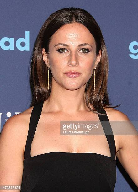 Alicia Menendez attends 26th Annual GLAAD Media Awards at The Waldorf Astoria on May 9 2015 in New York City