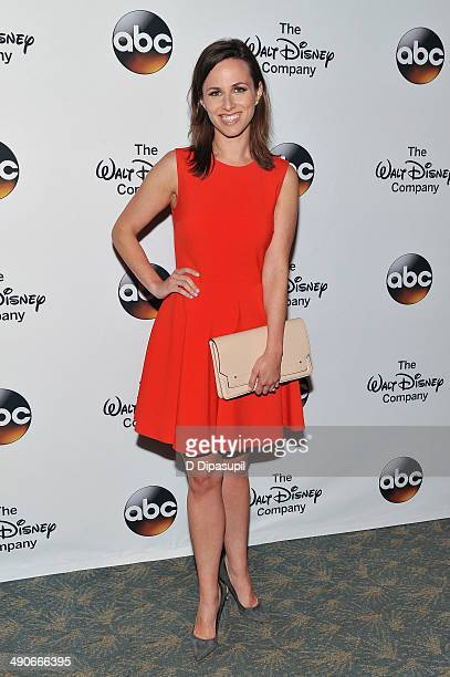 Alicia Menendez attends A Celebration of Barbara Walters Cocktail Reception Red Carpet at the Four Seasons Restaurant on May 14 2014 in New York City