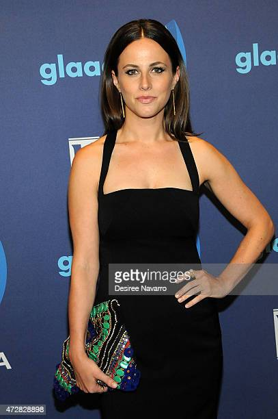 Alicia Menendez attends the 26th Annual GLAAD Media Awards at The Waldorf Astoria on May 9 2015 in New York City