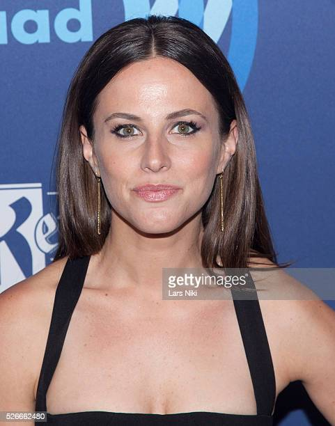 Alicia Menendez attends the '26th Annual GLAAD Media Awards' at the Waldorf Astoria in New York City �� LAN