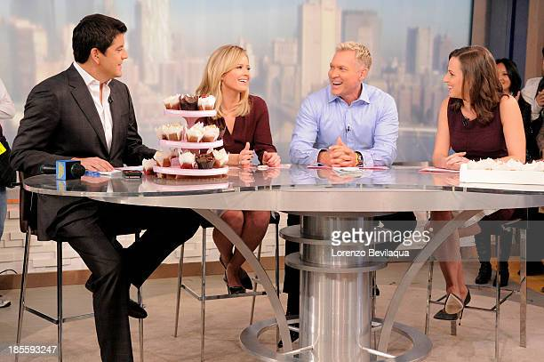 AMERICA Alicia Menendez is a guest on Good Morning America 10/17/13 airing on the Walt Disney Television via Getty Images Television Network