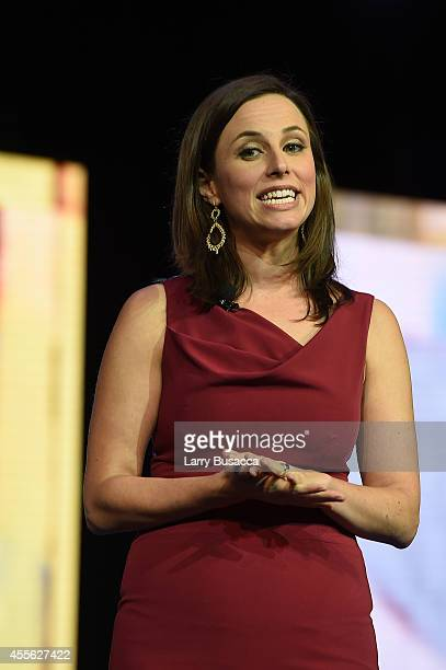 Alicia Menendez Tonight anchor Alicia Menendez appears at the 31st Annual Walter Kaitz Foundation Fundraising Dinner on September 17 2014 in New York...