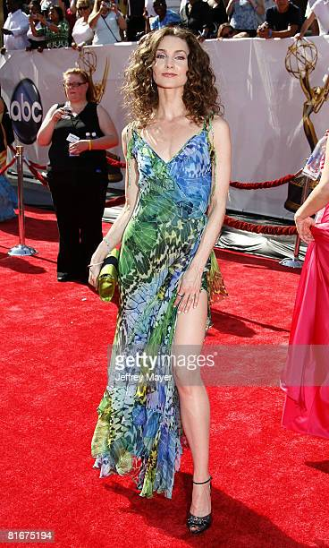Alicia Minshew arrives at the 35th Annual Daytime Emmy Awards on June 20 2008 in Los Angeles California