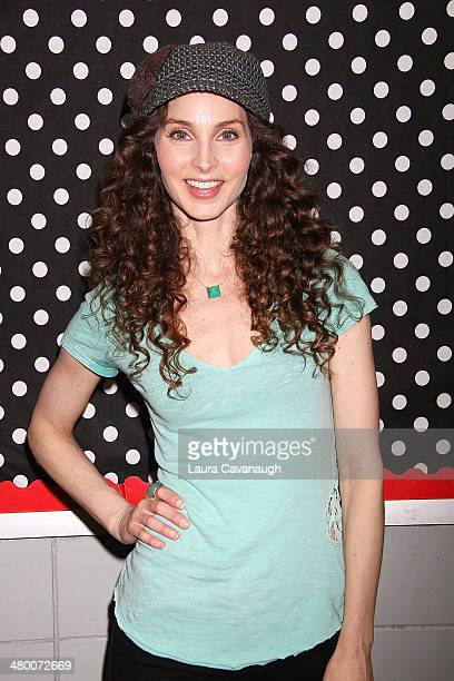 Alicia Minshew attends Save The Music Foundation's 'Family Day' at The Anderson School on March 22 2014 in New York City