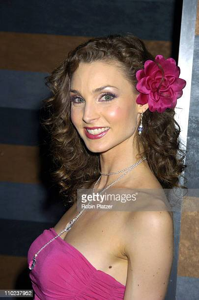 Alicia Minshew during All My Childrens 35th Anniversary Celebration benefitting Broadway Cares Equity Fights Aids at The Rainbow Room in New York...