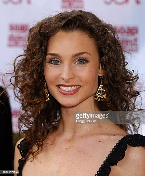 Alicia Minshew during Soapnet Presents The Soap Opera Digest Awards Arrivals at ABC Prospect Studios in Los Angeles California United States