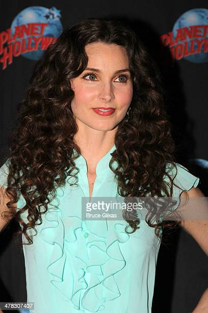 Alicia Minshew promotes 'Beacon Hill' as she visits Planet Hollywood Times Square on March 12 2014 in New York City