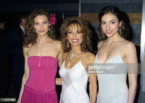 Alicia Minshew Susan Lucci and Eden Riegel during All My Childrens 35th Anniversary Celebration benefitting Broadway Cares Equity Fights Aids at The...