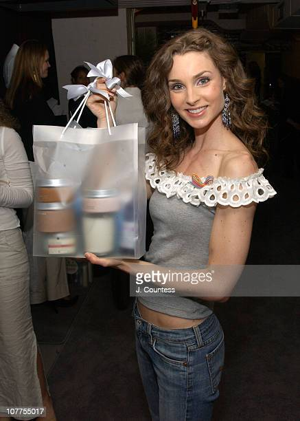 Alicia Minshew with Bath and Body Works Gift Collection