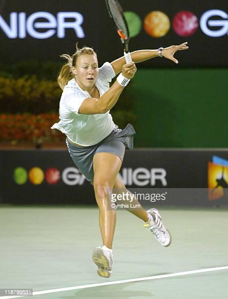 Alicia Molik of Australia during her 2005 Australian Open second round match vs Aiko Nakamura of Japan Molik won 62 64