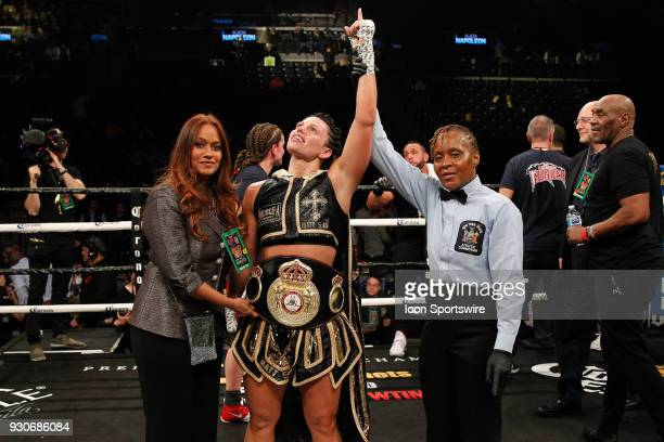 Alicia Napoleon defeated Femke Hermans ON MARCH 3 at the Barclays Center in Brooklyn NY