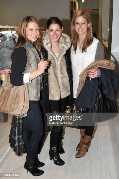 Alicia Pantano Lindsay Brooke Cohen and Ali Katz attend ALOHA RAG Launch of Exclusive Menswear Collection with THAKOON at Aloha Rag on February 16...