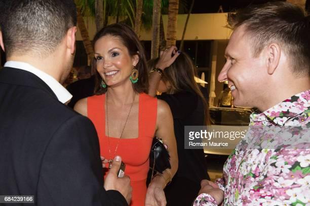 Alicia Piazza attend the Haute Living Miami's Annual Haute 100 Dinner Presented By Hublot And Prestige Imports at Miami Design District Palm Court on...