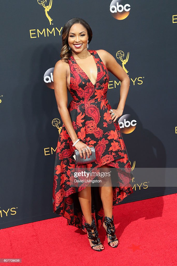Alicia Quarles arrives at the 68th Annual Primetime Emmy Awards at the Microsoft Theater on September 18, 2016 in Los Angeles, California.